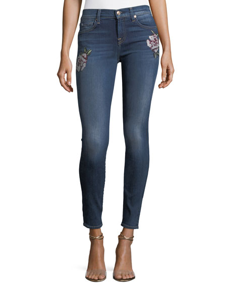 7 For All Mankind The Skinny Jeans w/