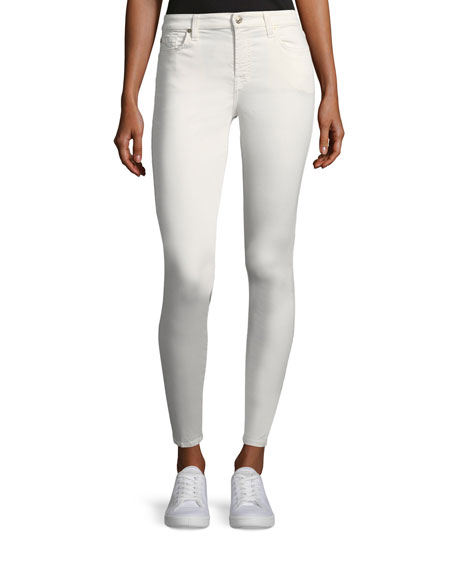 7 For All Mankind B(Air) Mid-Rise Ankle Skinny