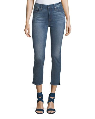 Symphony Skinny-Leg Ankle Jeans