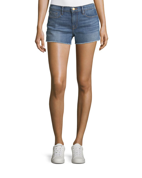 Le Cutoff Mid-Rise Denim Shorts