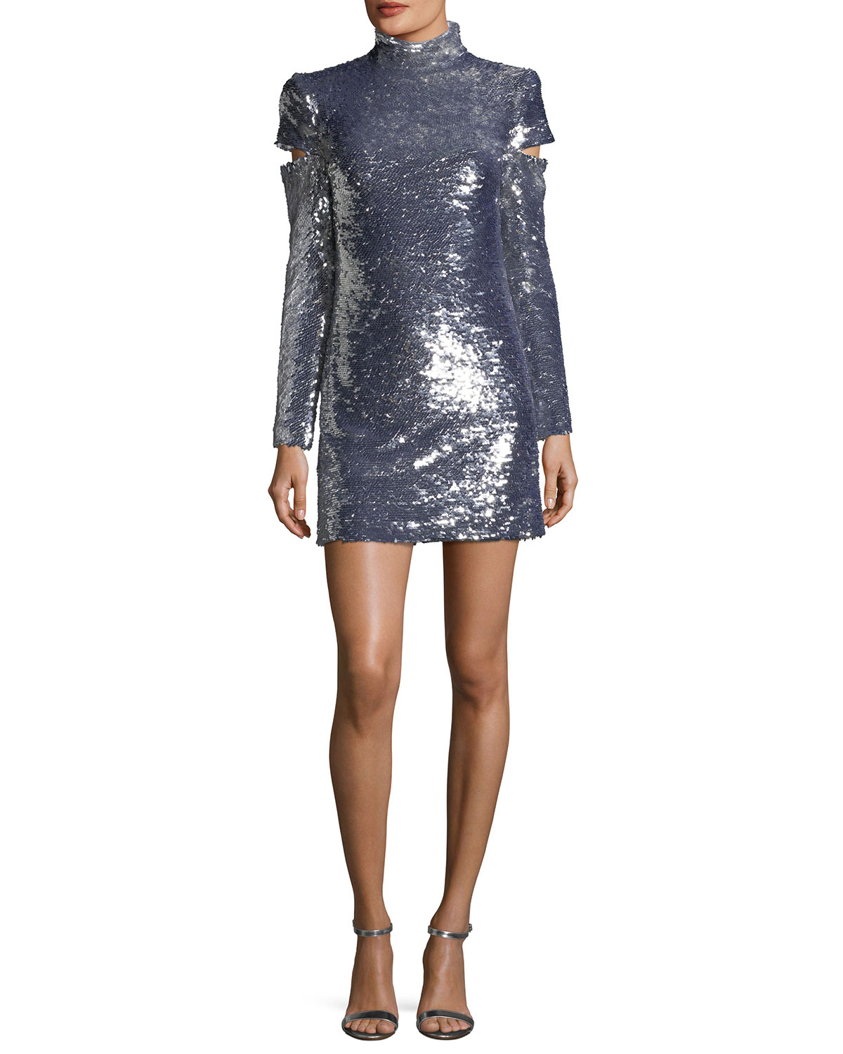 Sequined Cocktail Dress | Neiman Marcus