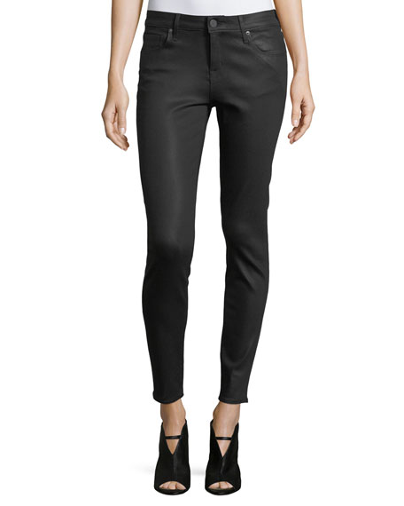 Parker Smith Ava Coated Skinny Jeans