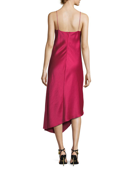 Sirocco Column Slip Cocktail Dress