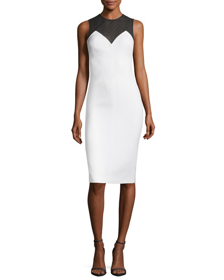 Camilla & Marc Mixografia Sleeveless Knee-Length Dress