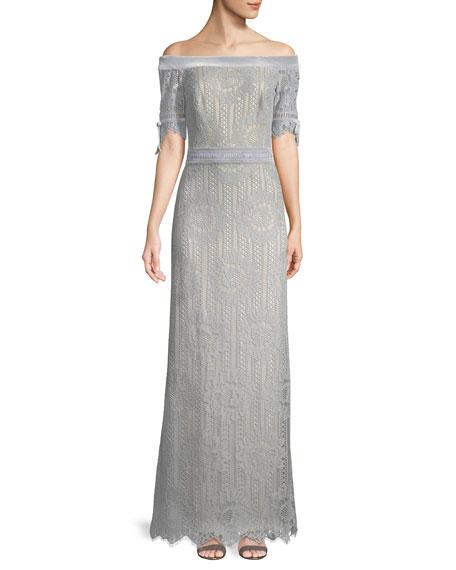 Tadashi Shoji Evening Dresses Long