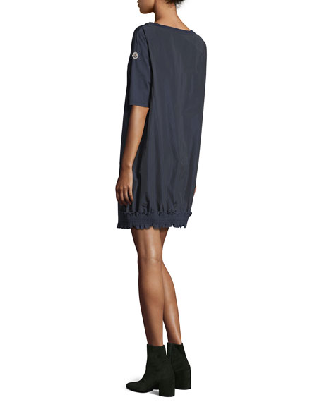Abito Corto Half-Sleeve Mini Dress