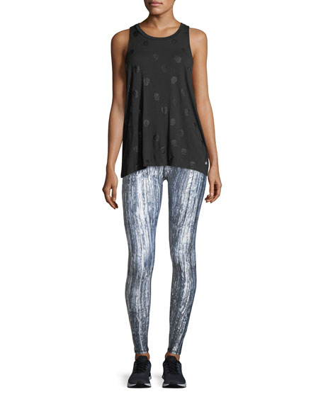 Glass Half Full Tall-Band Performance Leggings