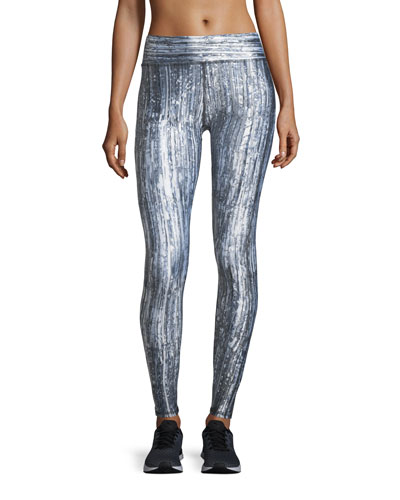 Terez Glass Half Full Tall-Band Performance Leggings