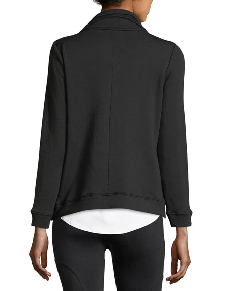 Soothe Zip-Front Fleece Jacket