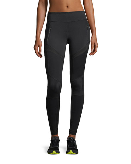 Vimmia Moto Mesh Panels Full-Length Performance Leggings