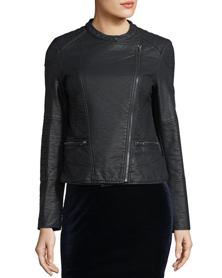 Donny Vegan Leather Jacket