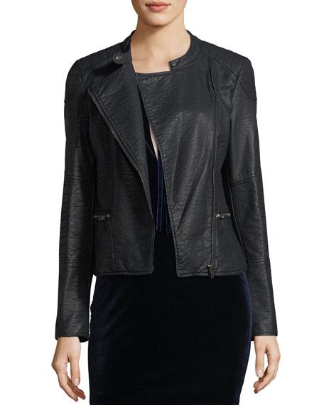 Donny Vegan Leather Jacket