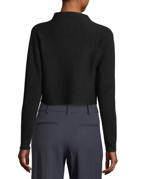 Vinchenda Cropped Merino Wool Sweater
