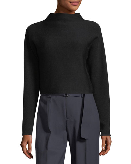 Vinchenda Cropped Merino Wool Sweater