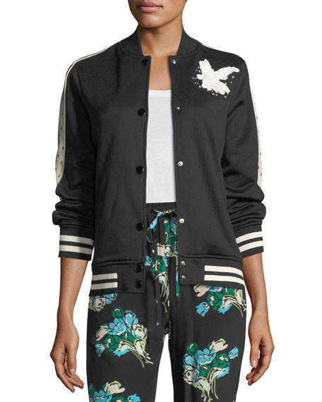 REDValentino Tulip-Print Silk Crepe Pants and Matching Items