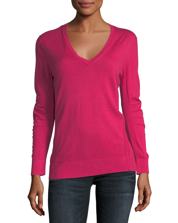 4f790b40161 Cashmere V-Neck Sweater