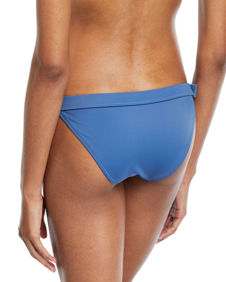 The Evelyn Side-Buckle Swim Bottom