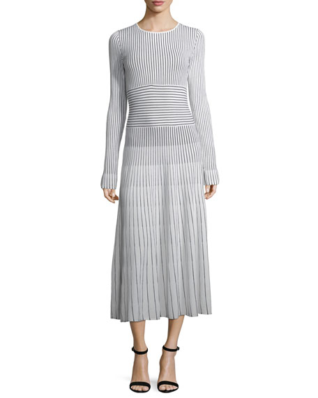 Elizabeth and James Sheridan Striped Sweaterdress