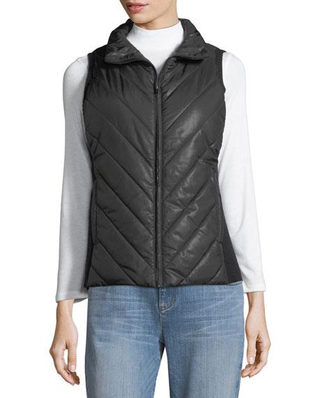 Parka Parts Zip-Front Vest, Plus Size