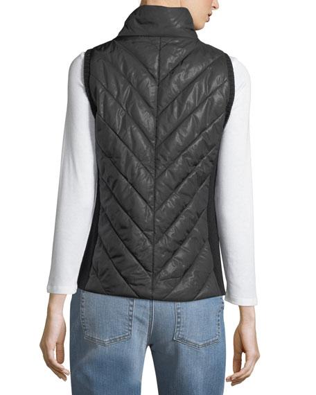 Parka Parts Zip-Front Vest, Petite