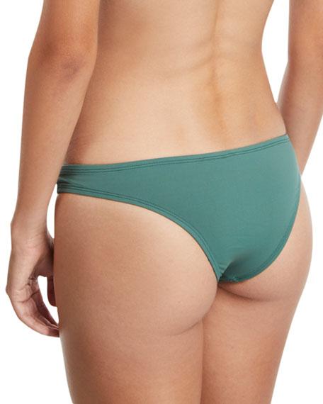 Neutra Hipster Swim Bikini Bottom, Sage Ecolux