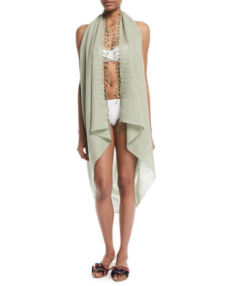 Le Chic Wrap Sarong Coverup
