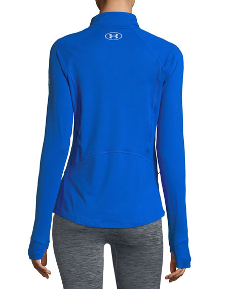 Run True Half-Zip Pullover Top