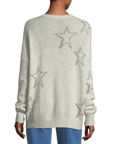 Harper Star-Print Cashmere Sweater
