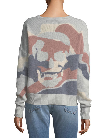 Zuleika V-Neck Cashmere Sweater