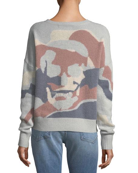 Zuleika V-Neck Cashmere Sweater
