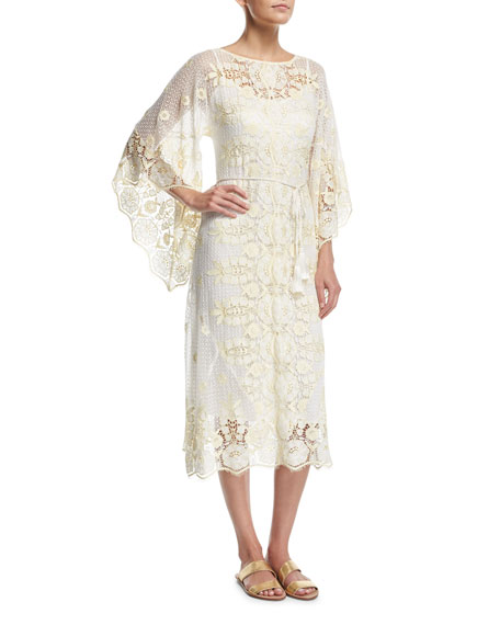 Olivia Sheer Lace Coverup Dress