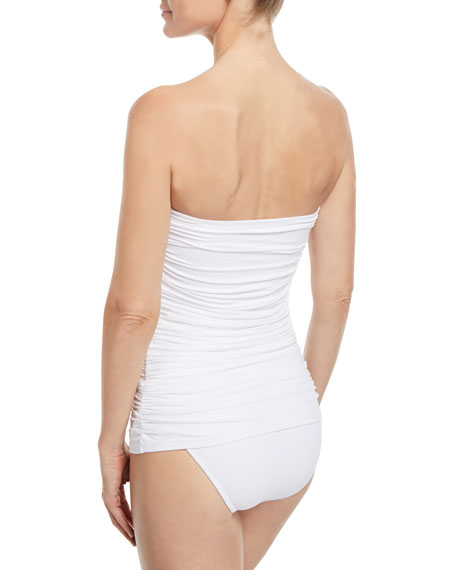 Mauritius Bandeau One-Piece Swimsuit
