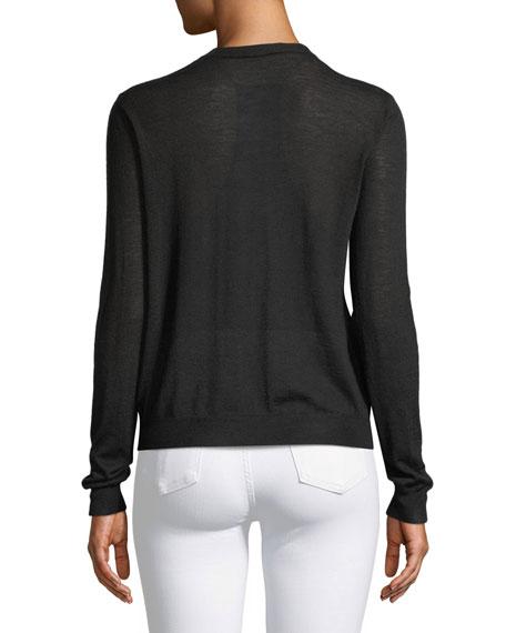Cashair Cashmere Button-Front Cardigan