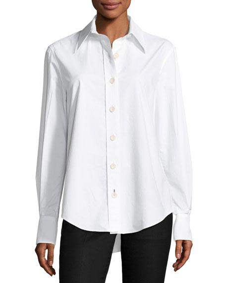 Garcon Button-Front Poplin Shirt