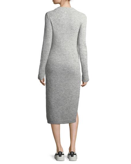 Monroe Fitted Midi Sweaterdress