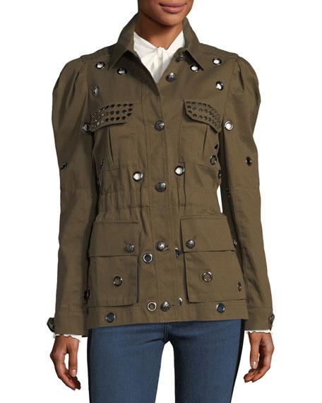 Lewis Safari Grommet Jacket
