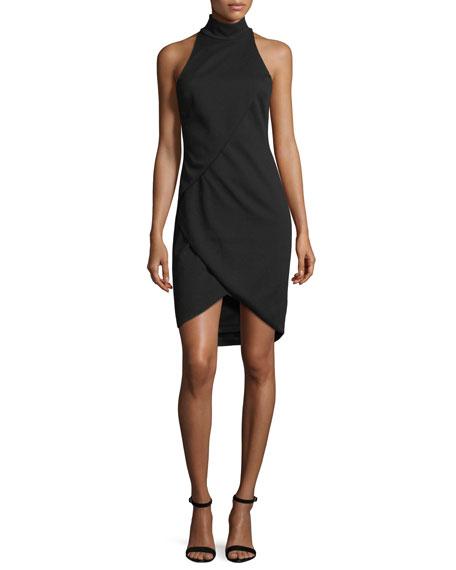 Bailey44 Orei Sleeveless Mock Neck Sheath Dress In Black Modesens