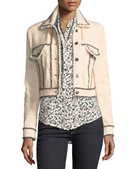 Vita Cropped Tweed Jacket