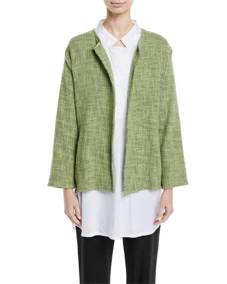 Juli Boucle Melange Long-Sleeve Jacket