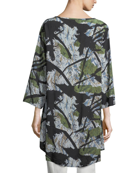 Guel Shadows Printed Tunic