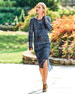 Image 2 of 3: Fonda Crochet Long-Sleeve Midi Dress, Plus Size