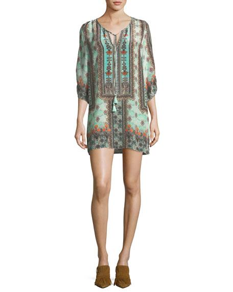 Kimberly Long Printed Tunic, Plus Size