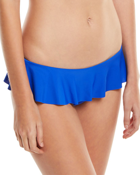 Milly Vita Italian Ruffle Bikini Swim Bottom