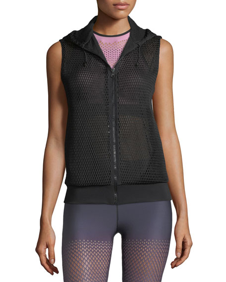 Flux Zip-Front Honeycomb Mesh Vest