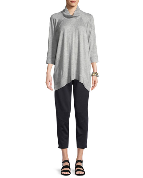 Straight Tapered Slouchy Pants