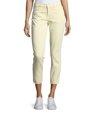 Sadey Slim Straight-Leg Ankle Jeans