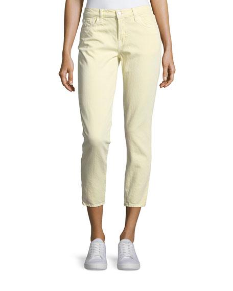 J Brand Sadey Slim Straight-Leg Ankle Jeans