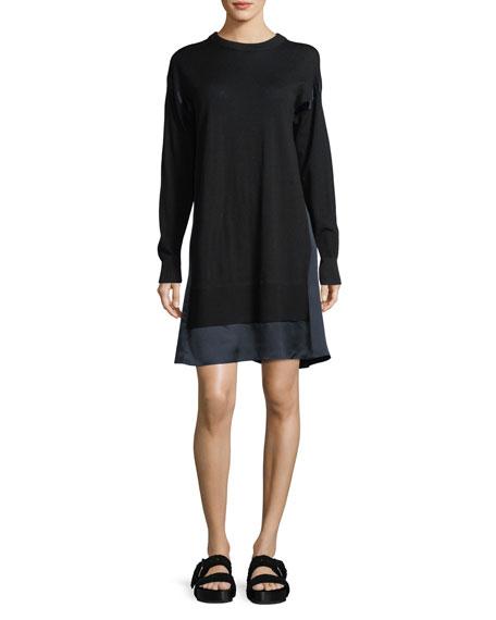 Rag & Bone Sadie Crewneck Long-Sleeve Wool Sweater