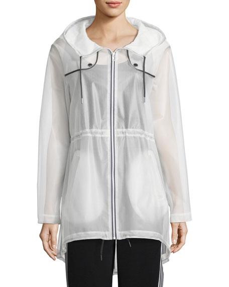 Long Rain Coat w/ Hood