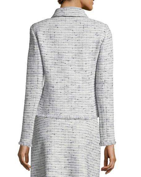 Josephine Tweed Fringe Jacket